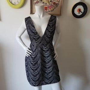 ASOS Black Lace Cocktail Dress Sz 6